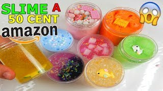 SLIME A 50 CENTESIMI COMPRATI DA AMAZON! COME SARANNO? Iolanda Sweets