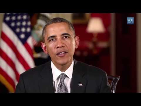 President Obama Weekly Address  Let's Get Back to the Work of the American People