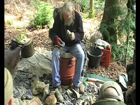 Flint Knapping with John Lord