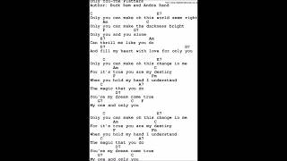 Only You Chords & Lyrics cover