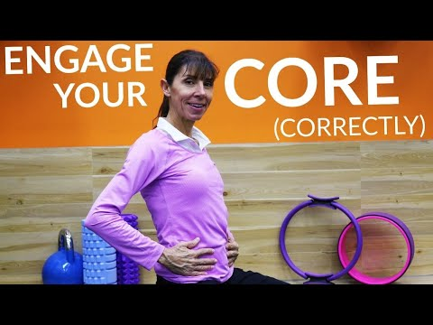 How to Engage Your Core Abdominal Muscles in 3 Easy Steps (Physical Therapy Guide)