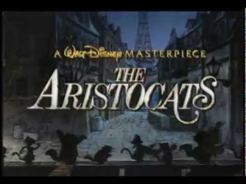 Disney's The Aristocats - Trailer - YouTube