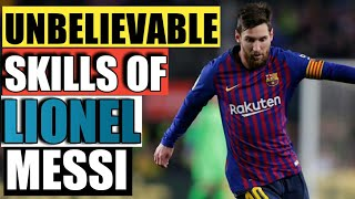The Unbelievable Skills Of Messi- HD