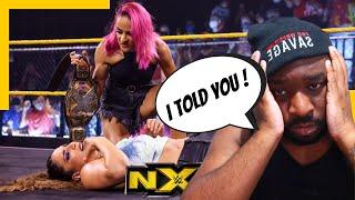 Dakota Kai shatters turns on Raquel Gonzalez   WWE NXT   REACTION