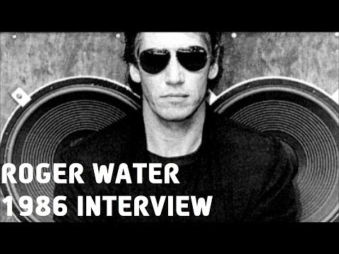Roger Waters (Pink Floyd) NY radio interview 1986