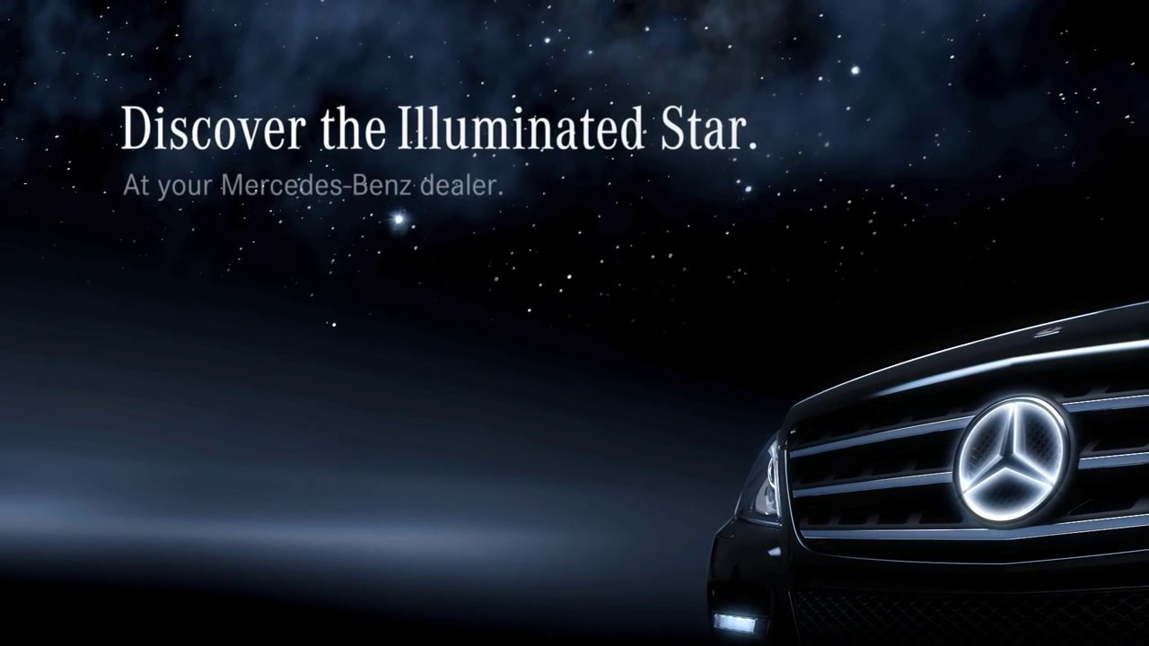 The illuminated star mercedes benz accessories youtube for Illuminated star mercedes benz installation