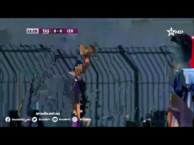 الإتحاد البيضاوي 1-0 الإتحاد الزموري للخميسات هدف محمد بنتايگ من نقطة الجزاء في الدقيقة 24.06|