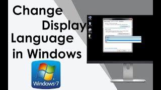 How To Change Language on Windows 7  - Hindi
