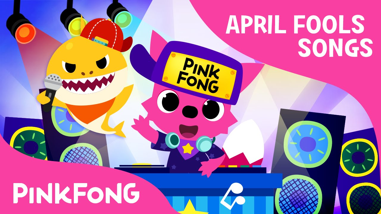 Baby Shock! | EDM Version of Baby Shark | April Fools' Animal Song | PINKFONG Songs for Childre