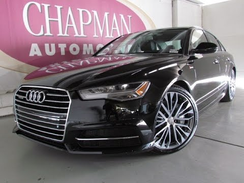 2017 New Audi A6 S Line Interior Exterior Full Review