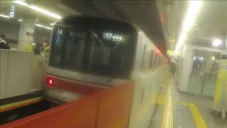 【東京メトロ丸ノ内線】 02系02-186F 方南町行き 中野坂上到着