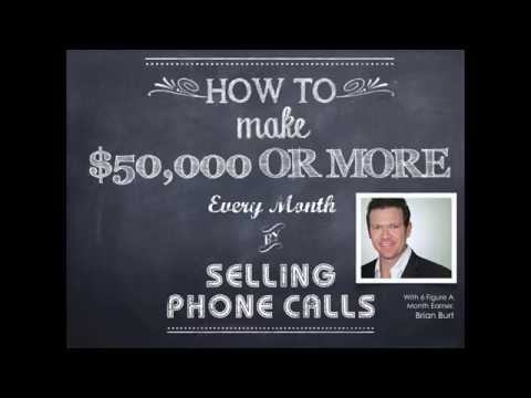 How To Make $50k Or More Each Month By Selling Phone Calls | Brian Burt of Passive & Massive