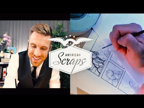 "American Scraps Demonstrative Inking Session: ""LBJ Call With Vance Hartke"" (feat. Josh Lynch)"