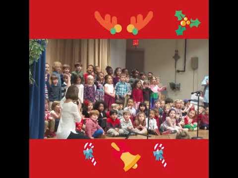 Winter Solstice School Concert in French.