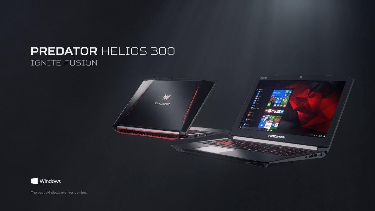 Predator Helios 300 Gaming Laptop – Ignite Fusion