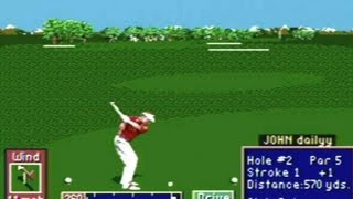 CGRundertow PGA TOUR GOLF II for Sega Genesis Video Game Review