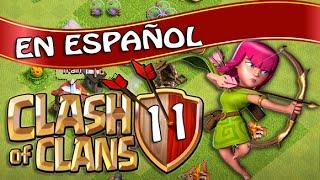 Clash of Clans en Español - Ep11 - Preparandonos para la Guerra (Juguemos COC)