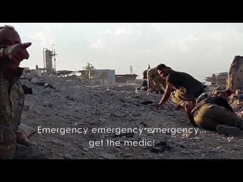 Iraqi ERD Police Save Lives in Mosul