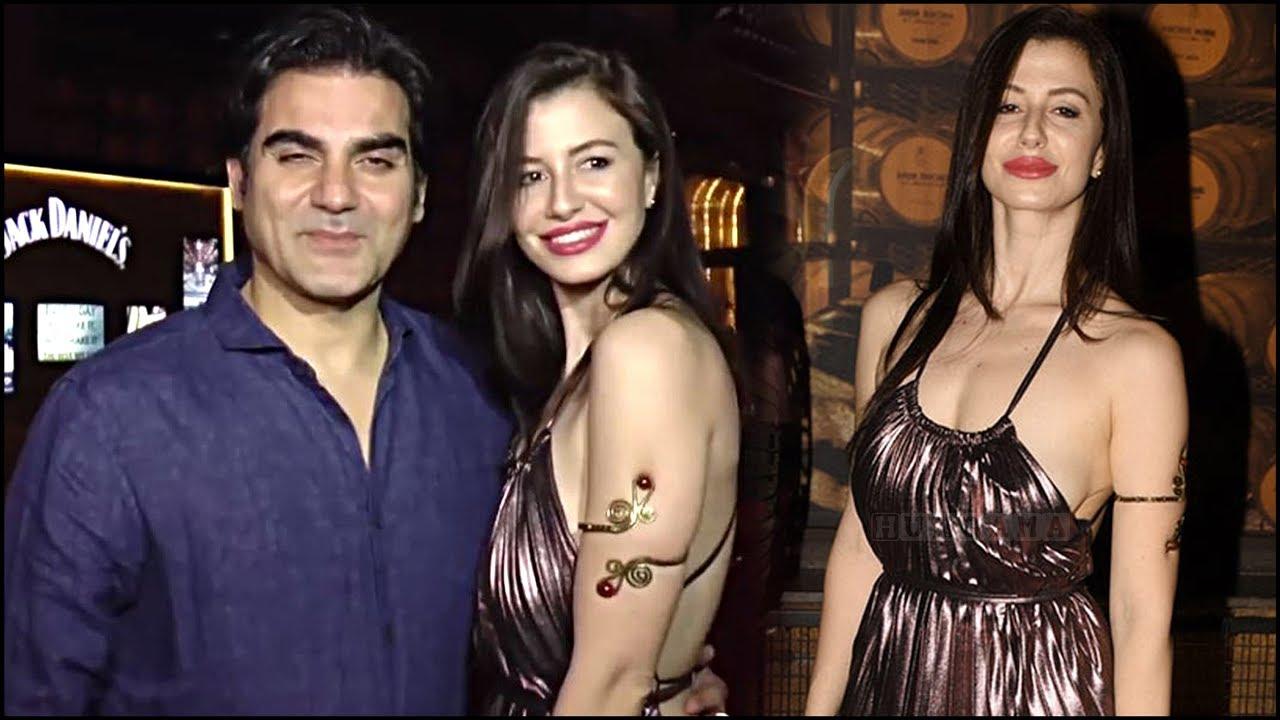 OMG! Arbaaz Khan With His Girlfriend Giorgia Andriani Oops ...