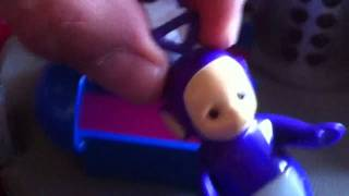 Repeat youtube video The teletubbies home hill playset with edward