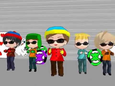 [MMD] Cartman's Poker Face