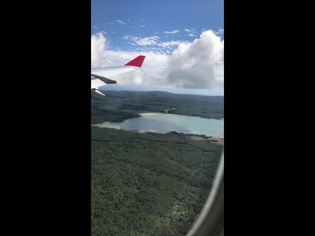 Landing in Mauritius