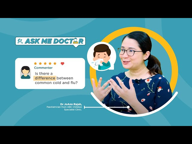 The Battle Between Children and Common Cold | Ask Me Doctor - Q&A with Paediatrician