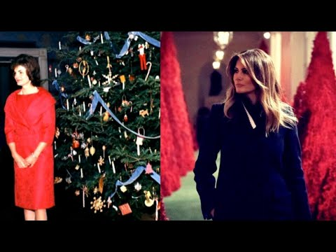 A Look at White House Christmas Decorations Through History