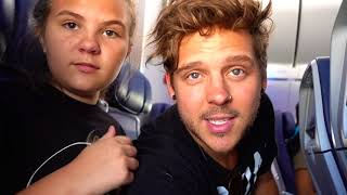 totally the wrong airplane ✈️ where do we end up? again slyfox family