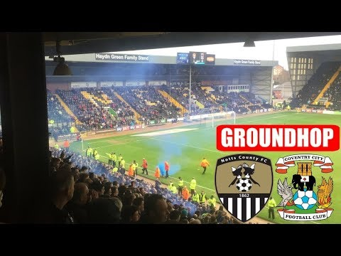 Groundhop Notts County VS Coventry City /Meadow Lane