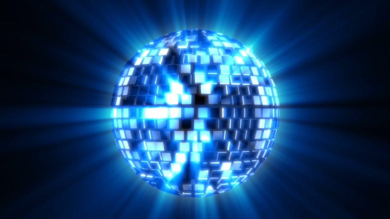 Shiny Mirror Disco Ball Spinning 2 Styles Loop Youtube
