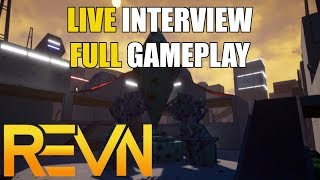 The Most Unique Moba? 3rd Person Shooter Moba Revn | Interview And Full Gameplay