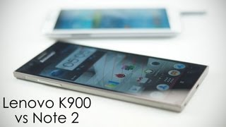 "Samsung Galaxy Note 2 vs Lenovo K900 (5.5"" Full HD /w Intel Inside) Comparison"