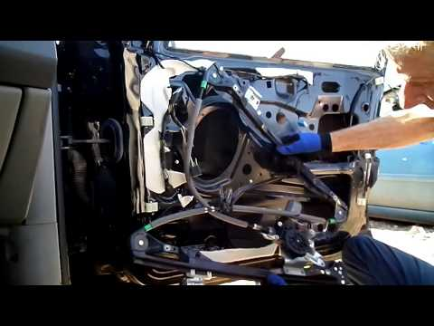 Ford Focus Window Motor Regulator Removal