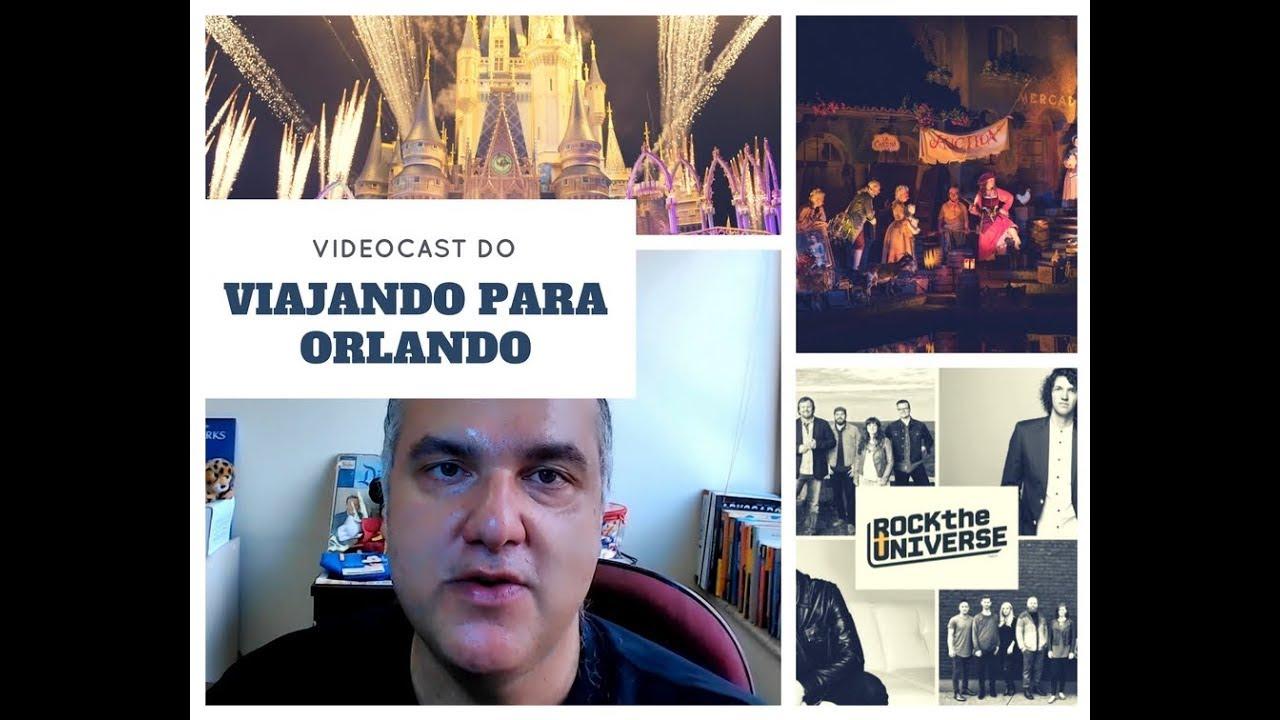 Videocast do Viajando para Orlando - 23 de março de 2018