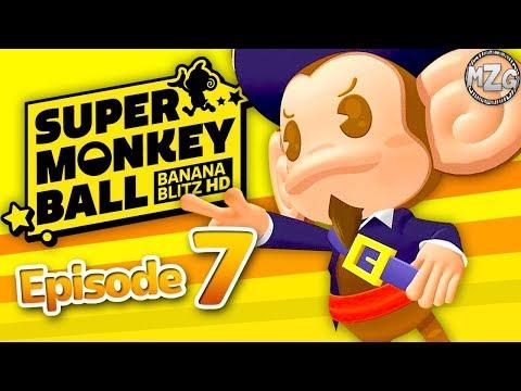 Super Monkey Ball Banana Blitz HD Gameplay Part 7 - C. Aiai! World 7 Volcanic Pools!