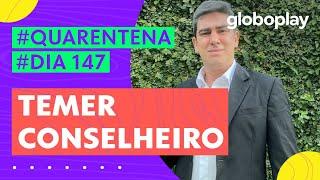 Marcelo Adnet imita Temer dando conselhos a Bolsonaro | Sinta-se em Casa | Globoplay