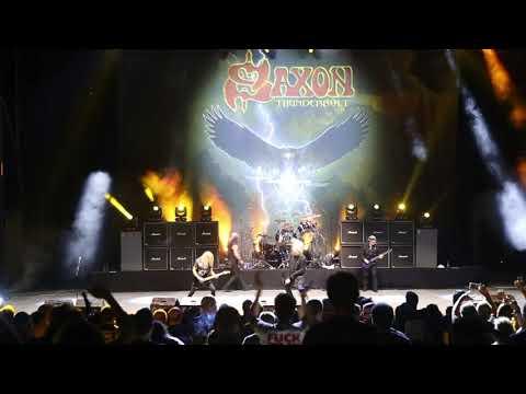 Concierto de Saxon en el Teatro de La Axerquía dentro el Festival de la Guitarra de 2019