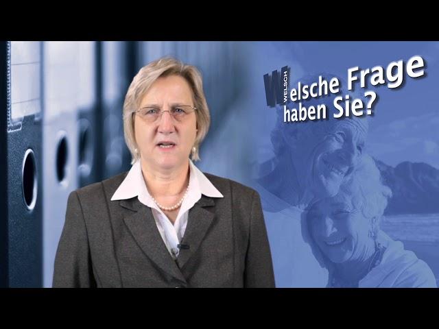 Stb Welsch – Vorsorgeaufwendungen