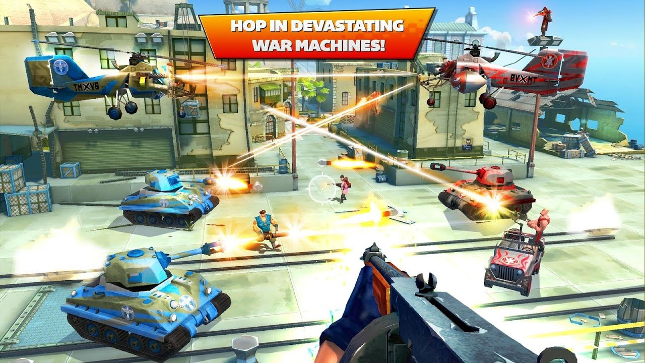 Blitz Brigade - Online GamePlay Android - video dailymotion