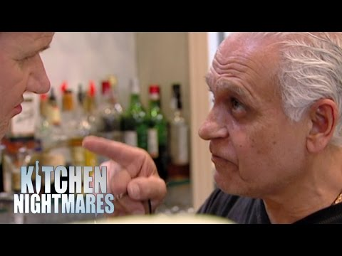 Ramsay Clashes with Aggressive Owner | Kitchen Nightmares