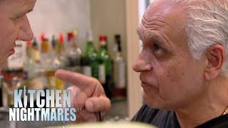 Ramsay Clashes with Aggressive Owner | Kitchen Nightmares thumbnail