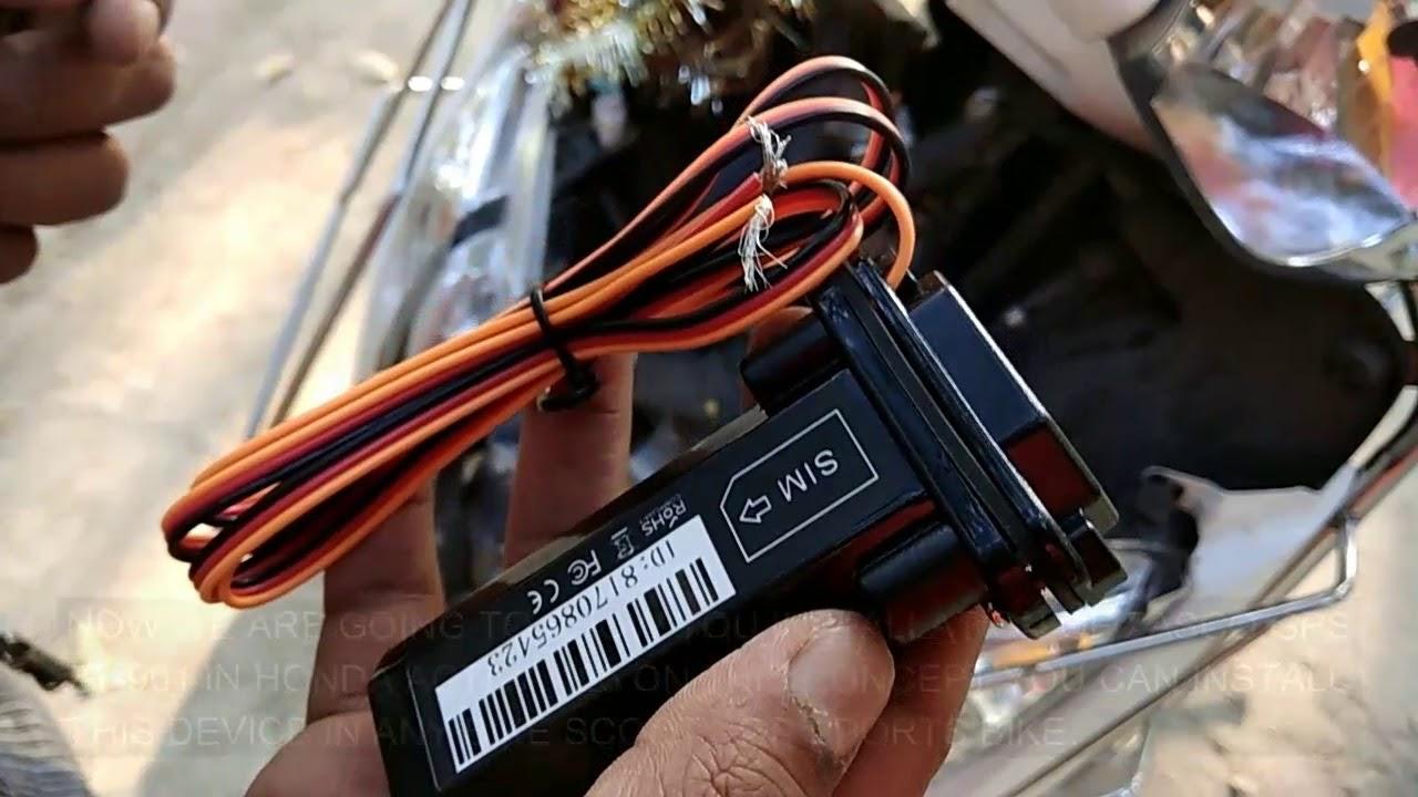 medium resolution of zasco zt 901 st 901 st901 installation in honda activa and any scooty or bike