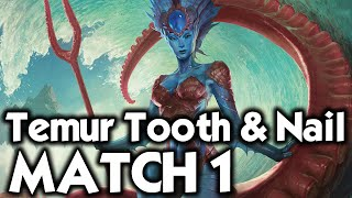 MTG Modern: Temur Tooth & Nail vs Splinter Twin