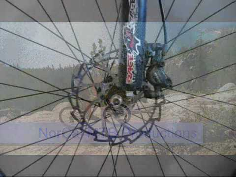 Resurface mountain bike rotors