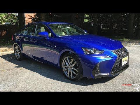 "2017 Lexus IS 300 F-Sport – The Current Japanese ""BMW"" Sport Sedan"