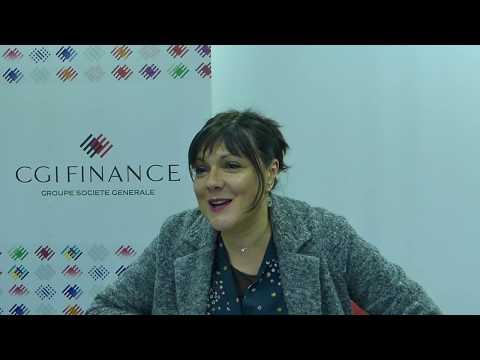 FITAE Rencontre Karine BERNARDI, Directrice générale de CGI Finance - Groupe société générale