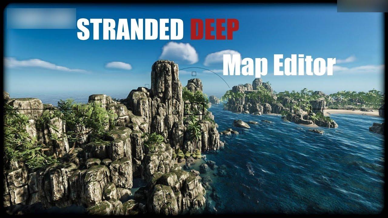 Stranded Deep World Map.Stranded Deep Map Editor Speed Build Cartographer St Angell