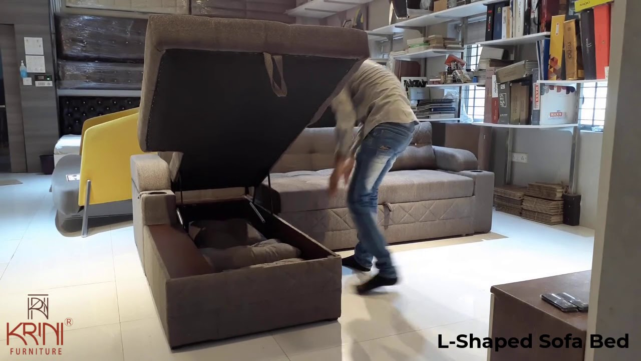 L Shaped Sofa Design For Living Room 2020 | New Sofa Designs | Sofa Bed With Storage | Space Saver