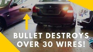 Rebuilding BMW 335i Involved In Gun Fight! Part.3